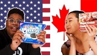 Download Americans & Canadians Swap Snacks Video