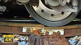 Download Huge trains masses on bad rail joints - Sweet sounds of bad rails - Belgrade Rakovica Video
