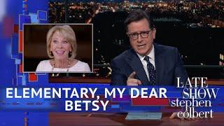 Download Betsy DeVos Flunked Her '60 Minutes' Test Video