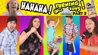 Download Lexi Makes Fun of Us All! TURNING into SKYLANDERS TOYS UPDATE (Part 2 #3D Printing Adventure) Video