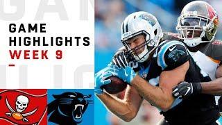 Download Buccaneers vs. Panthers Week 9 Highlights | NFL 2018 Video