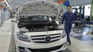 Download Mercedes-Benz B-Class Electric Drive Production Video