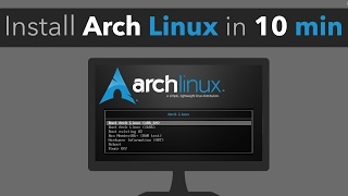 Download Installing Arch Linux in less than 10 minutes Video