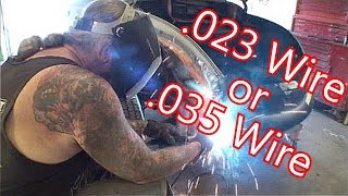 Download How To Use A MIg Welder-Choosing The Correct Wire Size For The Job Video