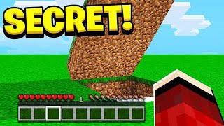 Download My Little Brother's *SECRET* BASE in Minecraft Pocket Edition! Video