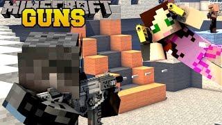 Download Minecraft: TOO MANY GUNS (ROCKET LAUNCHERS, LASER GUNS, & FUTURISTIC GUNS) Mod Showcase Video