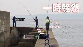 Download 危険堤防端にいた全員が大物釣りあげ一時騒然 Video