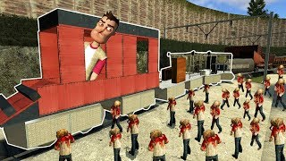 Download ZOMBIE HORDE SURVIVAL & BUILDING A TRAIN!   Garry's Mod Gameplay   Gmod Roleplay (Kid Friendly) Video