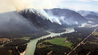 Download Battling B.C.'s wildfires from above Video