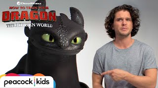 Download HOW TO TRAIN YOUR DRAGON: THE HIDDEN WORLD | Kit Harington Auditions with Toothless Video