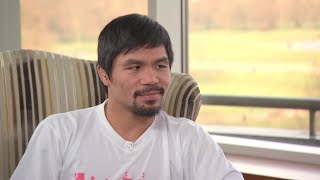 Download MANNY PACQUIAO REACTS TO GENNADY GOLOVKIN GETTING ROBBED AGAINST CANELO ALVAREZ Video