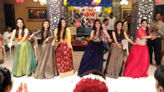 Download Dance Performance by Groom's Sisters on Sangeet Ceremony Video
