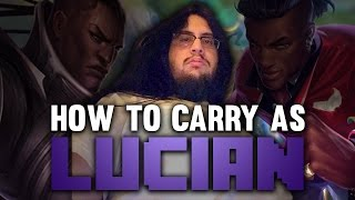 Download Imaqtpie - HOW TO CARRY AS LUCIAN Video