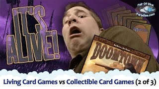 Download The Difference Between Collectible Card Games (CCG) and Living Card Games (LCG) (2 of 3) Video