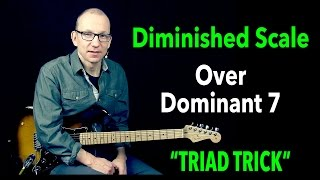 Download Diminished Scale over Dominant 7 - using a TRIAD - Q & A with Robert Renman Video
