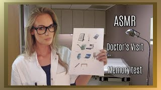 Download ASMR Doctor's Visit Memory test (soft spoken/whisper/personal attention) Video