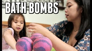 Download Home Made Bath bombs FAIL - ItsJudysLife Vlogs Video