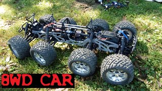 Download PROTO RC CAR 8 WD - VOITURE RC 8 ROUES MOTRICES 8X8 Video
