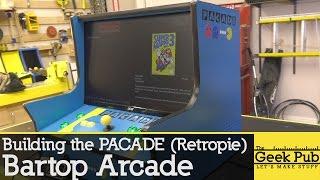 Download Pacade RetroPie Bartop Arcade Cabinet Build Video