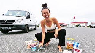 Download VAN LIFE // What Vegans Eat on a Road Trip Video
