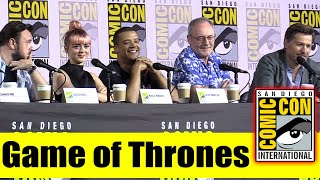 Download GAME OF THRONES | Comic Con 2019 Full Panel (Maisie Williams, Nikolaj Coster-Waldau, Jacob Anderson) Video