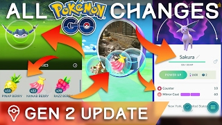 Download HERE'S *EVERYTHING* THAT CHANGED IN THE POKÉMON GO GEN 2 UPDATE Video