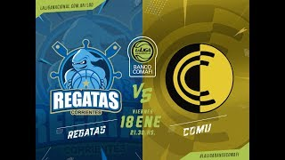 Download #LaLigadeDesarrollo | 18.01.2019 Regatas vs. Comunicaciones Video