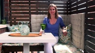 Download How to create an outdoor dining area on a small balcony Video
