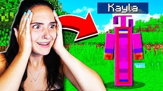 Download MAKING MY GIRLFRIEND A MINECRAFT ACCOUNT! Video