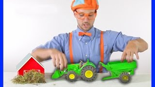 Download Tractors for Children | Blippi Toys - TRACTOR SONG Video