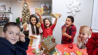 Download GINGERBREAD HOUSE DECORATING | SU'A SQUAD SHOWDOWN Video