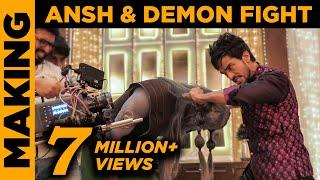 Download Nazar   Ansh & Demon Fight Scene   Making   Star Plus   Screen Journal Video