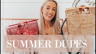 Download SUMMER DUPES // Luxury For Less // Fashion Mumblr Video