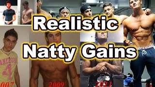 Download Natty muscle gain expectations Video