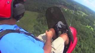 Download 150 HP Yamaha powered Air Command gyroplane Video