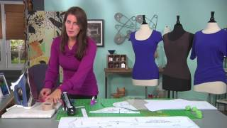 Download Sew a perfect t-shirt on It's Sew Easy with Angel Wolf (1305-1) Video