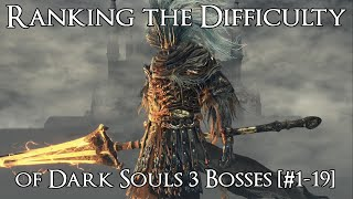 Download Ranking the Dark Souls 3 Bosses from Easiest to Hardest [#1-19] Video