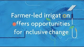 Download What is Farmer-led Irrigation? Unlocking Innovation for Livelihood, Food, and Water Security Video