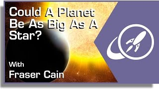 Download Could A Planet Be As Big As A Star? Video