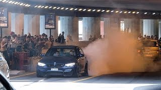 Download BMW M3 Busted by the Police after doing a Burnout in Monaco !! Video