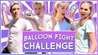 Download WATER BALLOON FIGHT CHALLENGE | ROOMMATE WARS Video