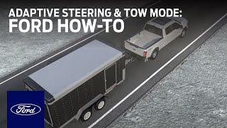 Download Adaptive Steering with Tow/Haul Mode | Ford How-To | Ford Video