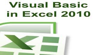Download Excel 2010 VBA Tutorial 4 - Hiding Rows and Columns Video