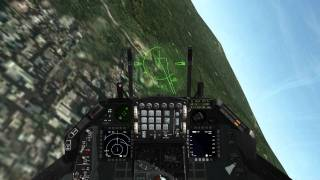 Download Falcon 4.0 BMS - Guns Only Dogfight (F16 vs. 2 SU-33's) Video