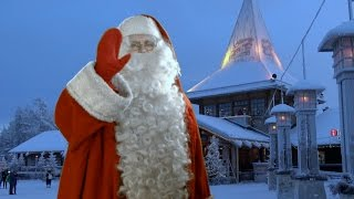 Download Santa Claus Village in Lapland: home of Father Christmas Rovaniemi Finland video message to children Video