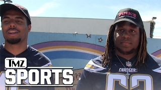 Download CHARGERS PLAYERS TO L.A. FANS - CHOOSE US OVER RAMS We Don't Want Bandwagon Love Later | TMZ Sports Video