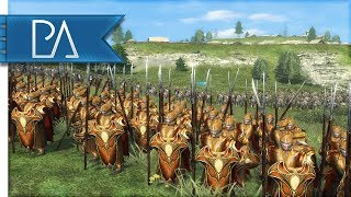Download GREAT AMBUSH IN MIRKWOOD: SIEGE BATTLE - Lord of the Rings - Third Age Total War Reforged Video