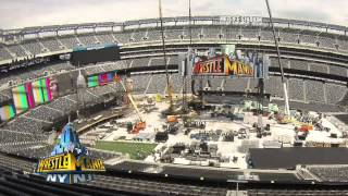Download Creating the WrestleMania 29 set: WWE Exclusive, April 7, 2013 Video