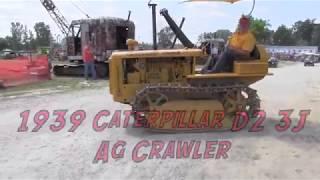 Download Restored Caterpillar D2 3J Ag Crawler Video