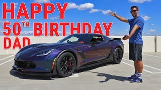 Download I BOUGHT MY DAD HIS DREAM CAR ( 2017 CORVETTE Z06) Video